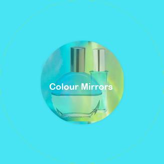 Colour Mirrors = Farger speiler (deg) fargesystem fargeterapeuter fargeterapi oljor essenser